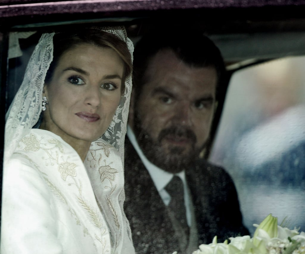 Matrimonio In Spanish : Queen letizia and king felipe of spain wedding pictures