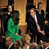 """William: """"Our seats are so far apart, I can barely hear you!"""""""