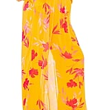 Song of Style Karina Pant in Yellow Floral from Revolve.com