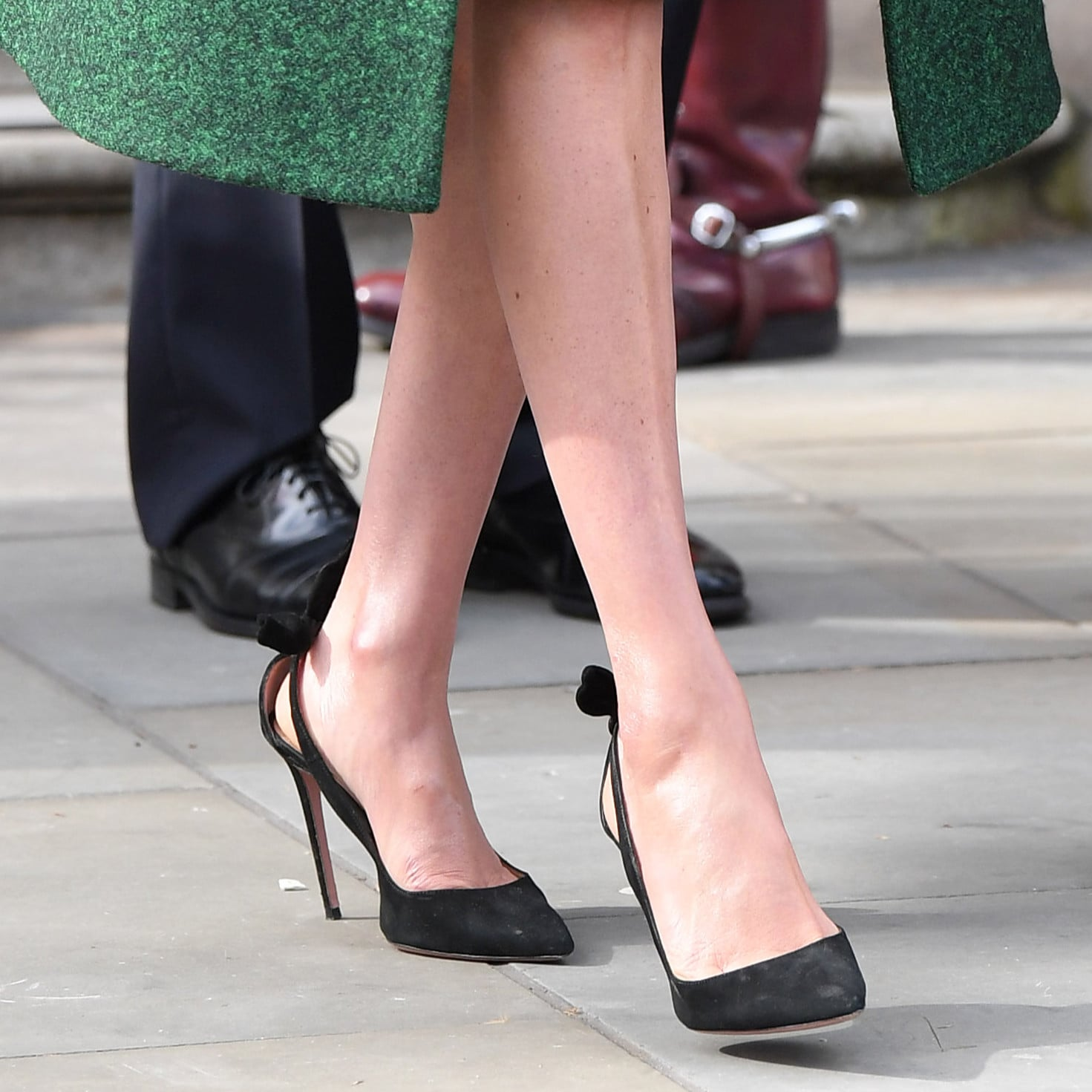 3716eccd29d48 Meghan Markle's Pregnancy Shoes | POPSUGAR Fashion