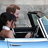 Meghan Markle and Prince Harry Wedding Reception Pictures
