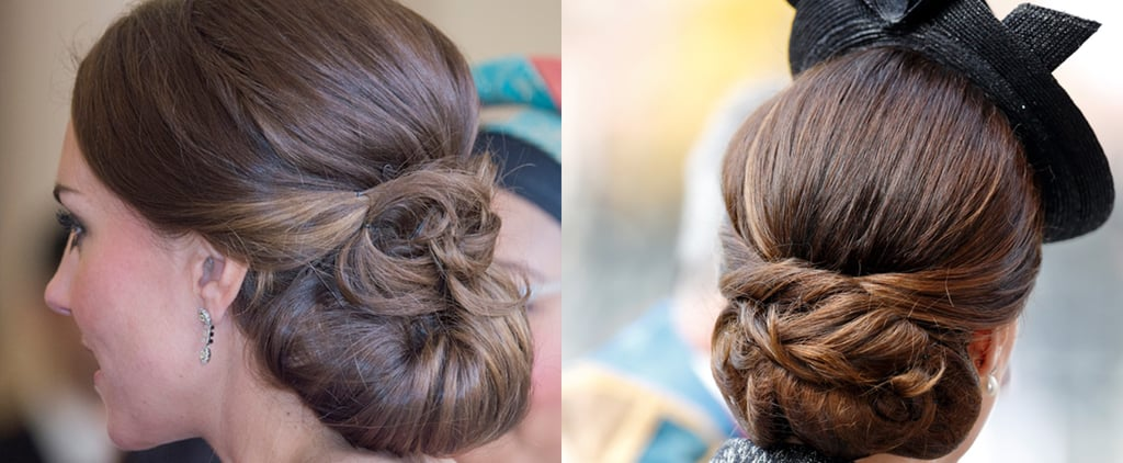 Kate Middleton's Chignon Hairstyle