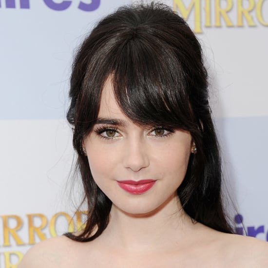 Get Lily Collins's Makeup Look from the Mirror Mirror Premiere