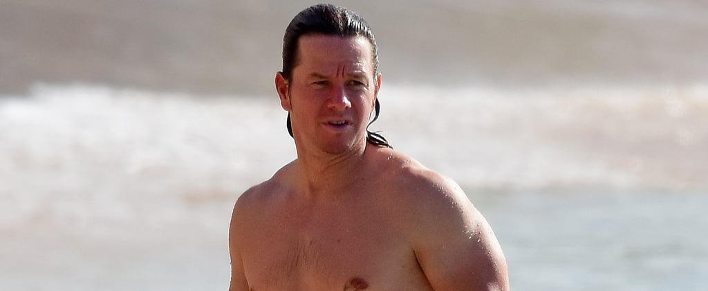 What a Guy: Mark Wahlberg Goes Shirtless and Snaps Selfies With Fans on the Beach