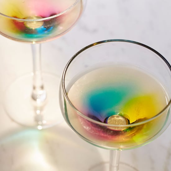 Rainbow Wine Glasses From Urban Outfitters