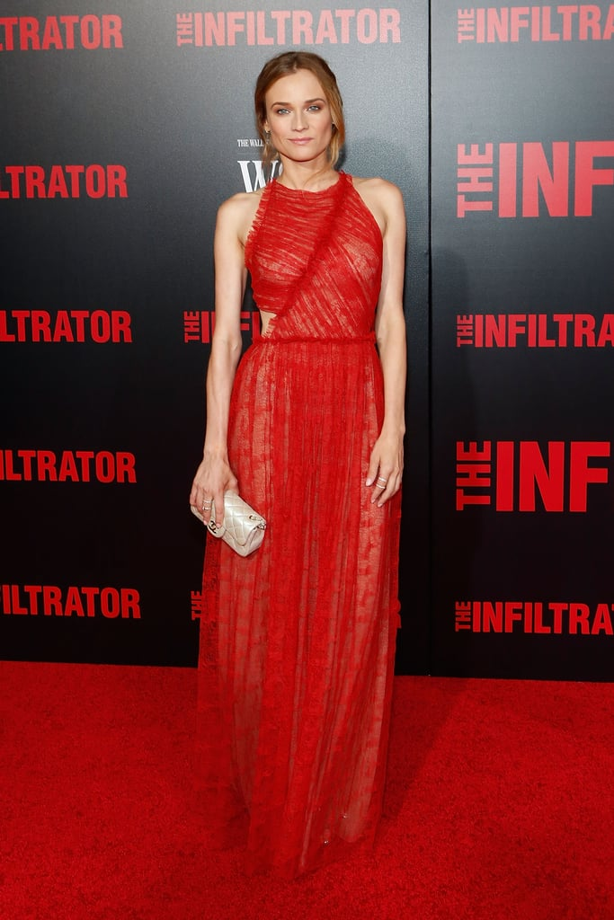 Diane Kruger at The Infiltrator New York Premiere in 2016