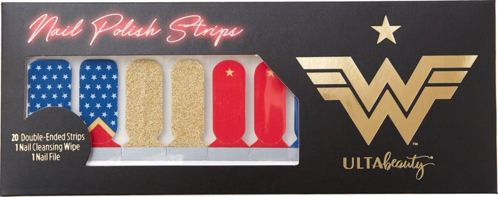Ulta x Wonder Woman 1984 Nail Polish Strips