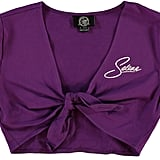 Selena Self-Tie Crop Top