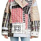 Ganni Oversize Quilted Patchwork Jacket