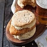 Hot Beer-Fried Chicken and Pepper Biscuits
