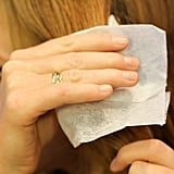 Defrizz Your Hair With Dryer Sheets