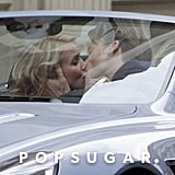 Cameron Diaz and her costar Nikolaj Coster-Waldau passionately kissed on set in NYC.