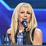 Britney Spears discussed the X Factor finale.