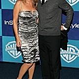 Jimmy Fallon and Nancy Juvonen in January 2006