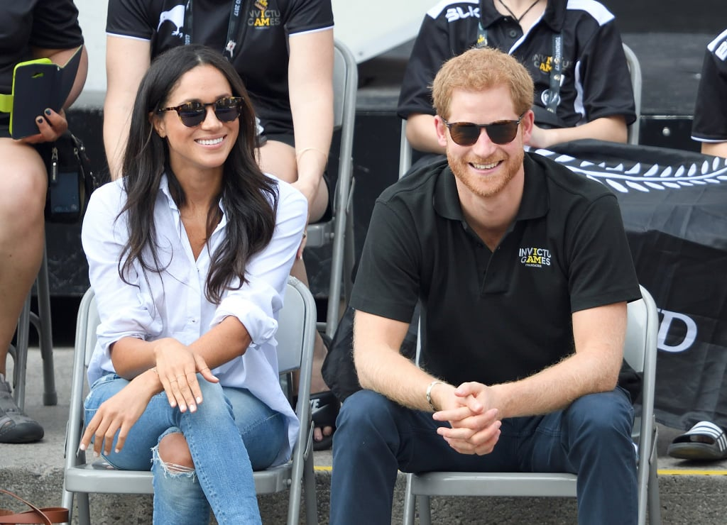 March 2017: Meghan Becomes Harry's Plus One