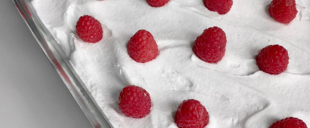 Raspberry Poke Cake Recipe
