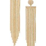 b5c239749 Something Navy Rhinestone Chandelier Earrings   Best Gold Earrings ...