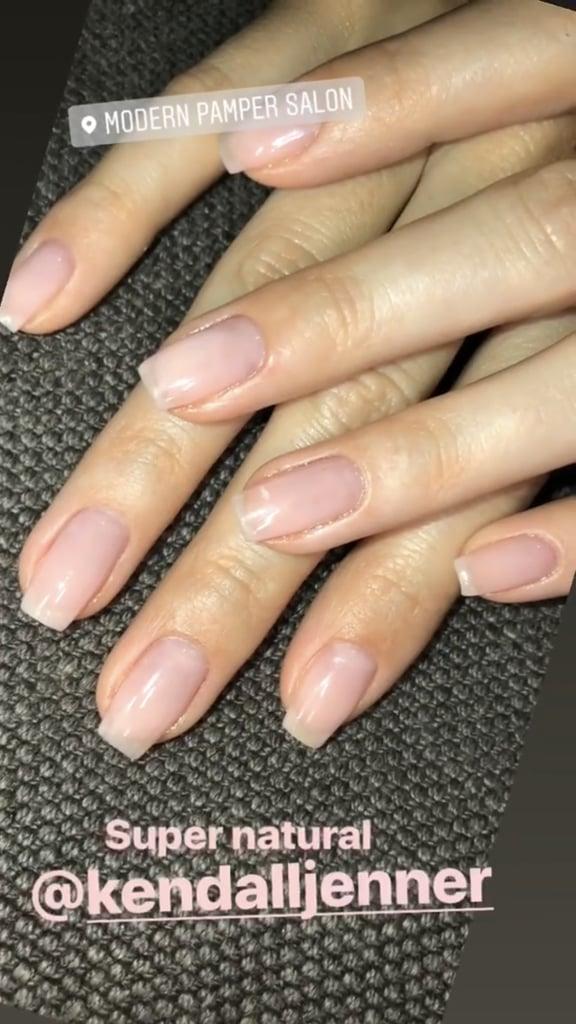 Kendall Jenner's Flower Manicure