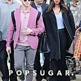 Priyanka Chopra's Denim Suit With Nick Jonas