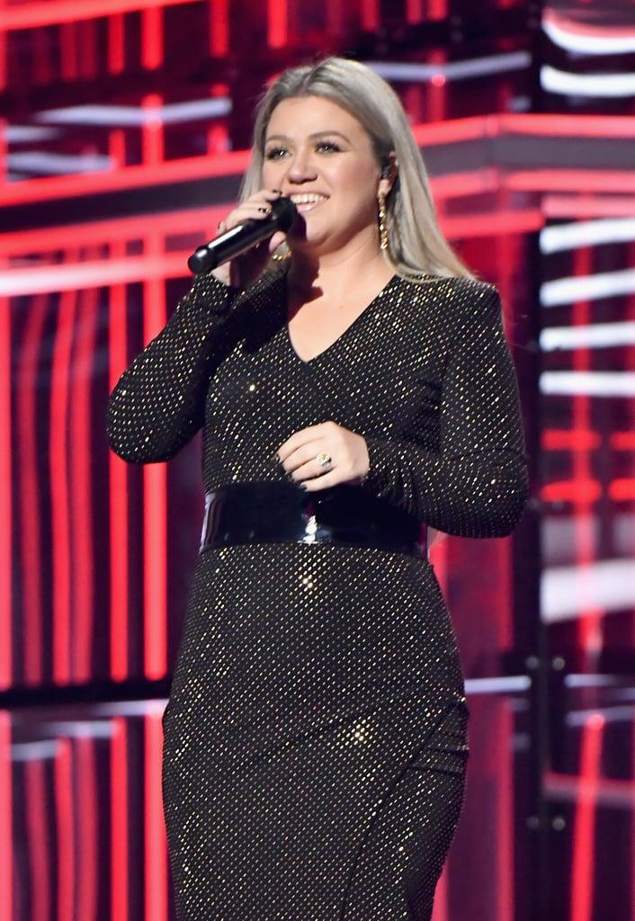 Kelly Clarkson at the Billboard Music Awards 2018 | POPSUGAR ...