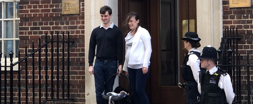 New Parents Mistaken to Be Kate Middleton and New Royal Baby