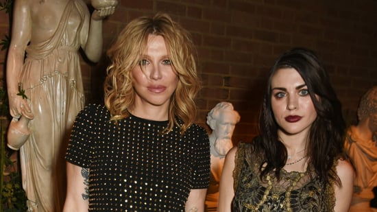 Courtney Love and Daughter Frances Bean Cobain Party in London With Bella Hadid, Cara Delevingne and Elton John