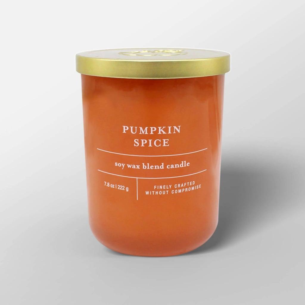 Pumpkin Spice Glass Jar Candle
