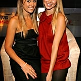 Lauren Conrad and Whitney Port attended a Hollywood event in September 2007.