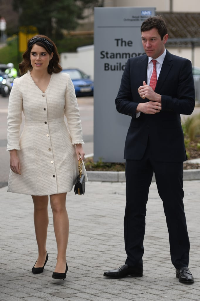 Princess Eugenie and Jack Brooksbank Step Out For Their First Engagement as a Married Couple