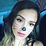 Jessica Alba as a Cat