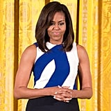 Michelle Obama Has 1 Key Trick When It Comes to Mastering Prints