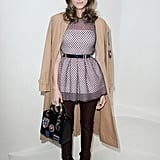 Allison Williams in Dior Outfit at Haute Couture Show