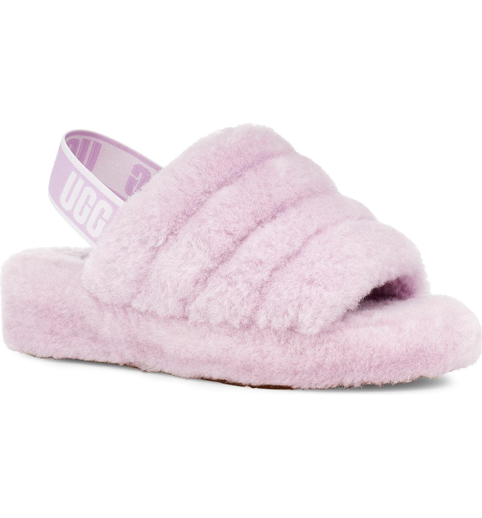fuzzy ugg slippers