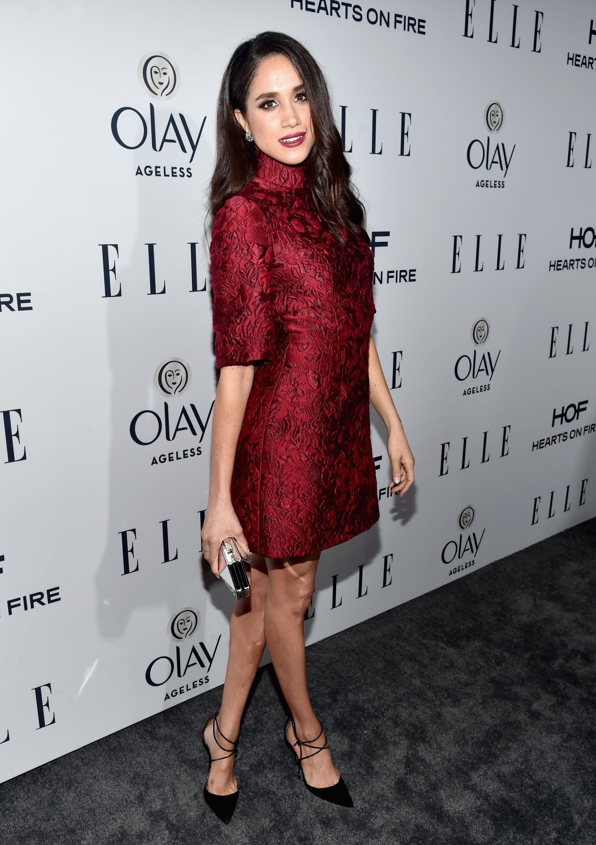 WEST HOLLYWOOD, CA - JANUARY 20:  Actress Meghan Markle attends ELLE's 6th Annual Women In Television Dinner at Sunset Tower Hotel on January 20, 2016 in West Hollywood, California.  (Photo by Alberto E. Rodriguez/Getty Images for ELLE)