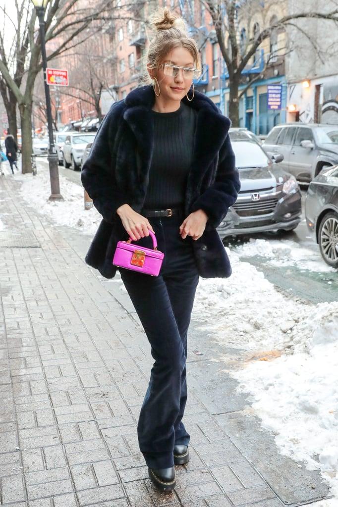 Gigi Hadid's Dr. Martens x Lazy Oaf Boots