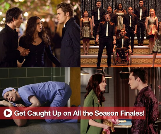 Season Finale Catch Up For Grey's Anatomy, The Office, Vampire Diaries, and More
