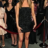 Jennifer Aniston Steps Out in Sexy Black for Directors Guild Awards With Justin, Not Demi