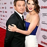 Pictured: Jeremy Renner and Cobie Smulders