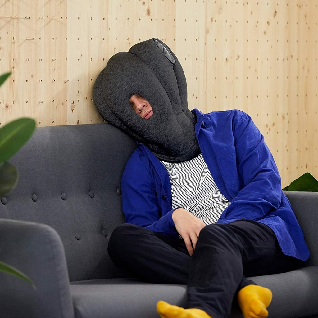 You Have to Really Love Sleep to Wear This Travel Pillow, and We'll Take 2, Please