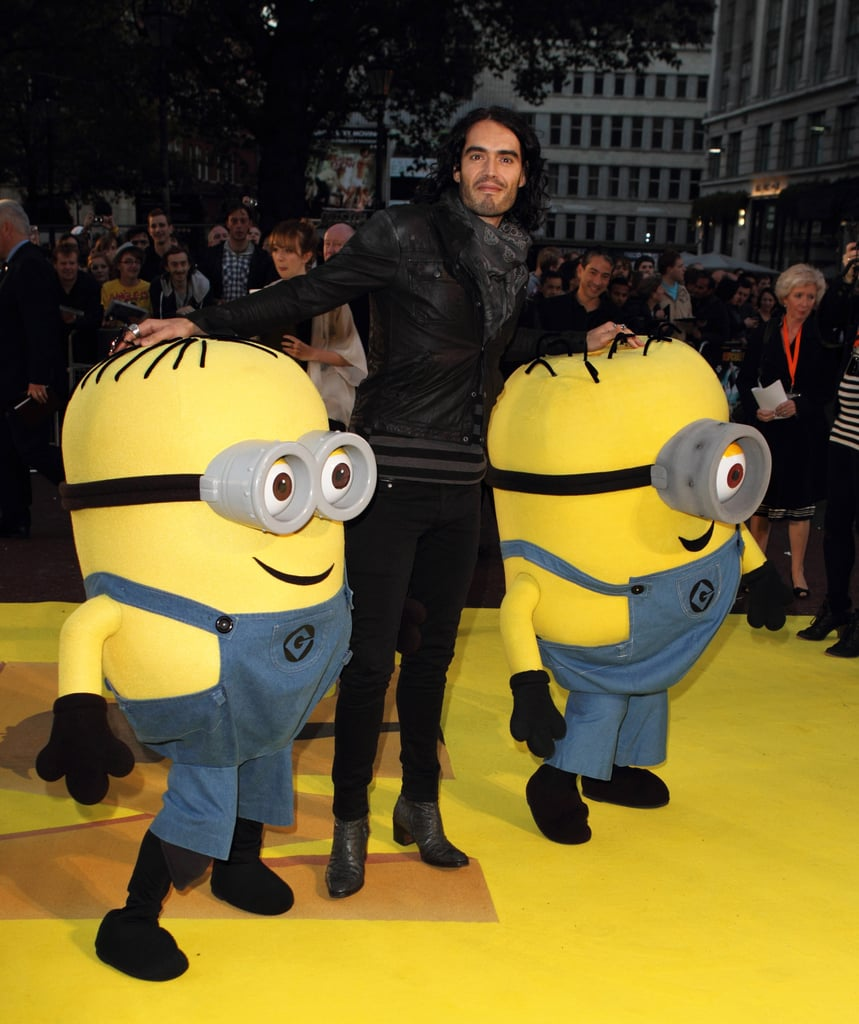 Pictures of Russell Brand at Despicable Me Premiere
