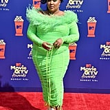 Lizzo at the 2019 MTV Movie & TV Awards