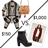 """See our FabSugar editors face off in a  """"cozy cabin getaway"""" budget challenge. Which look do you like best?"""