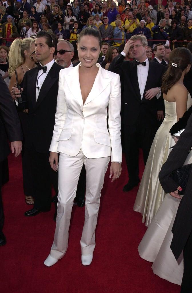 Angelina Jolie's Surprising Signature Style: Pantsuits!