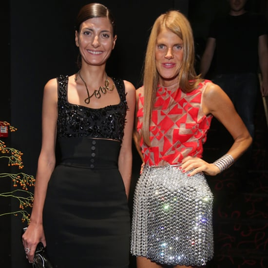 Models and Celebrities at Fashion Parties | Sep. 23, 2013