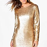 Boohoo Boutique Fliss Sequin Dress