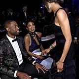 Gabrielle Union and Dwyane Wade amfAR Inspiration Gala 2016