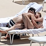 Emily VanCamp and Joshua Bowman were all over each other in June 2012 during their romantic getaway to Monaco.