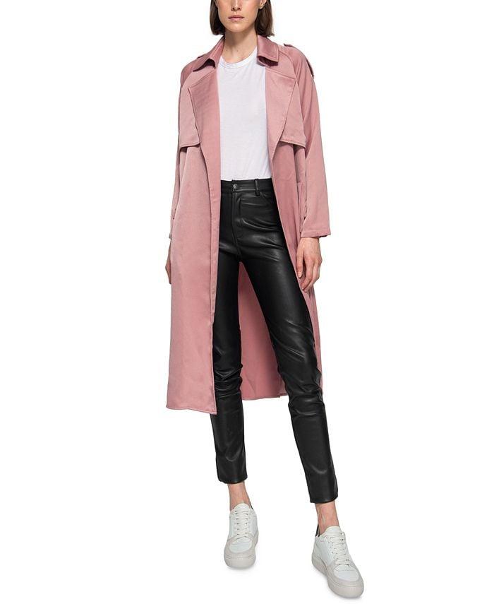 Dauntless Mila Crepe Trench Coat & Reviews - Coats & Jackets - Women -