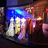 Costumes for Tyrion Lannister, Sansa Stark, Prince Oberyn Martell, Margaery Tyrell, Prince Joffrey Baratheon and Cersei Lannister. Source: Jessica Chandra