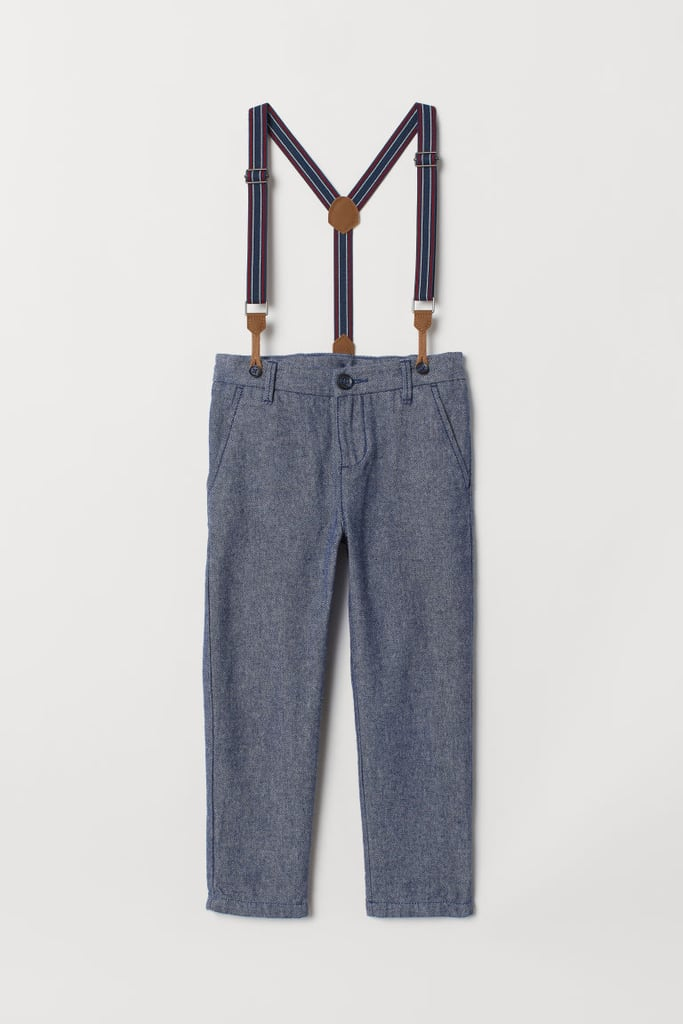 Pants with Suspenders